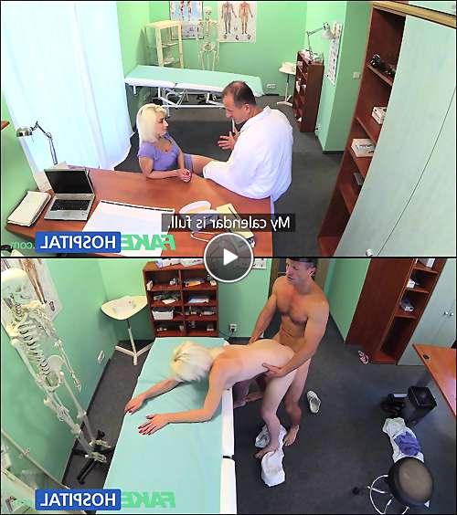 sexy blonde milf porn video